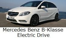 Mercedes Benz B-klasse Electric DriveZon