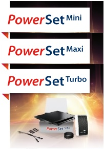 Solar Frontier PowerSet Mini, Maxi en Turbo