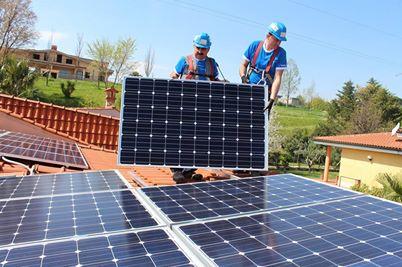 Yingli Solar zonnepanelen installatie