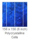 Hanwha poly kristallijne zonnecel