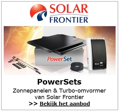Solar Frontier PowerSets met Turbo omvormer