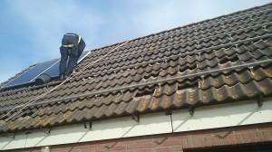 Premium installatie zonnepanelen_valbeveiliging met koord