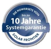 Solar Frontier PowerSets 10 jaar garantie