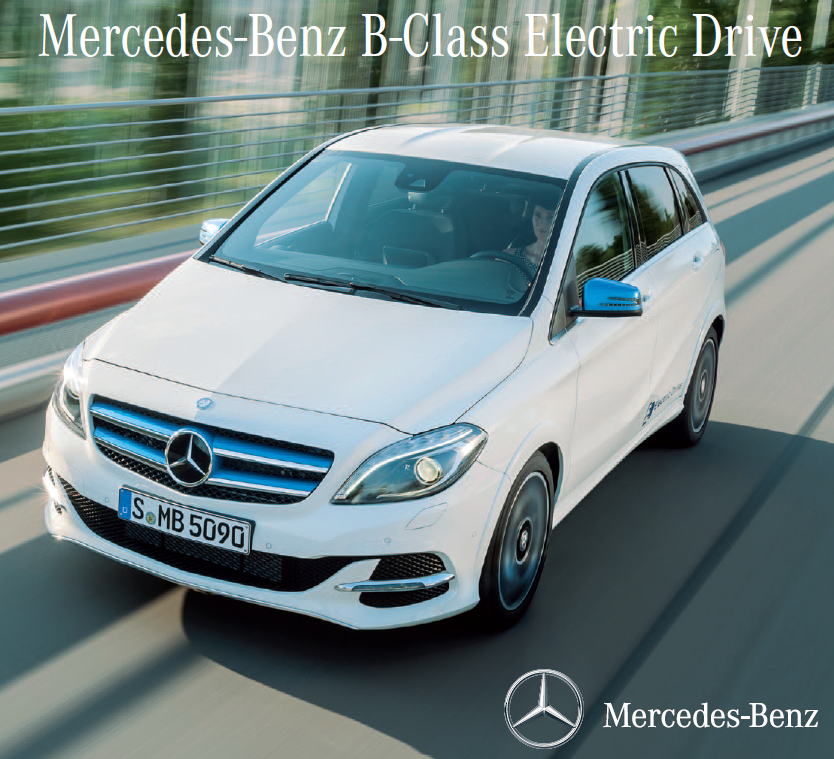 Brochure Mercedes Benz B Klasse Electric Drive Twente Zon