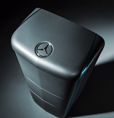Mercedes Benz energie opslag systeem