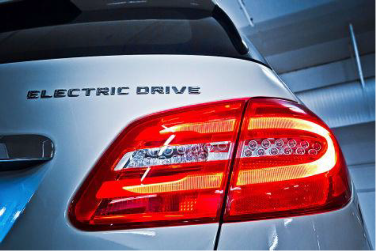 Mercedes Benz Electric Drive_achterlicht