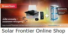 Solar Frontier Online Shop