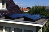 solarwatt panelen op platdak